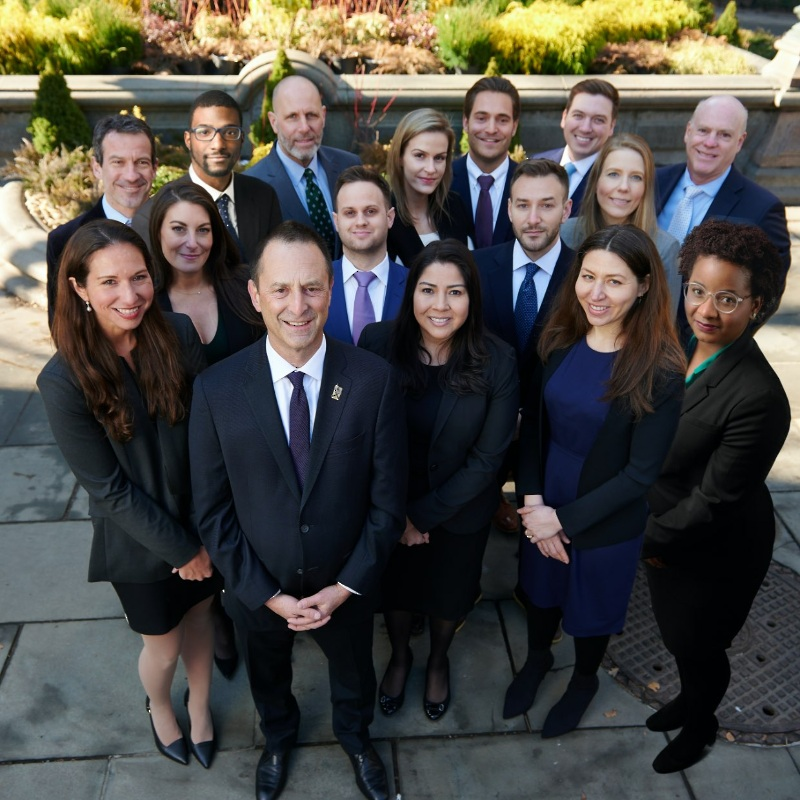 group of attorneys from the law firm barasch & mcgarry